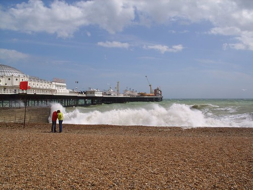 Brighton beach and pier