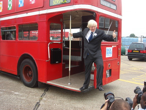 Boris on the Bus
