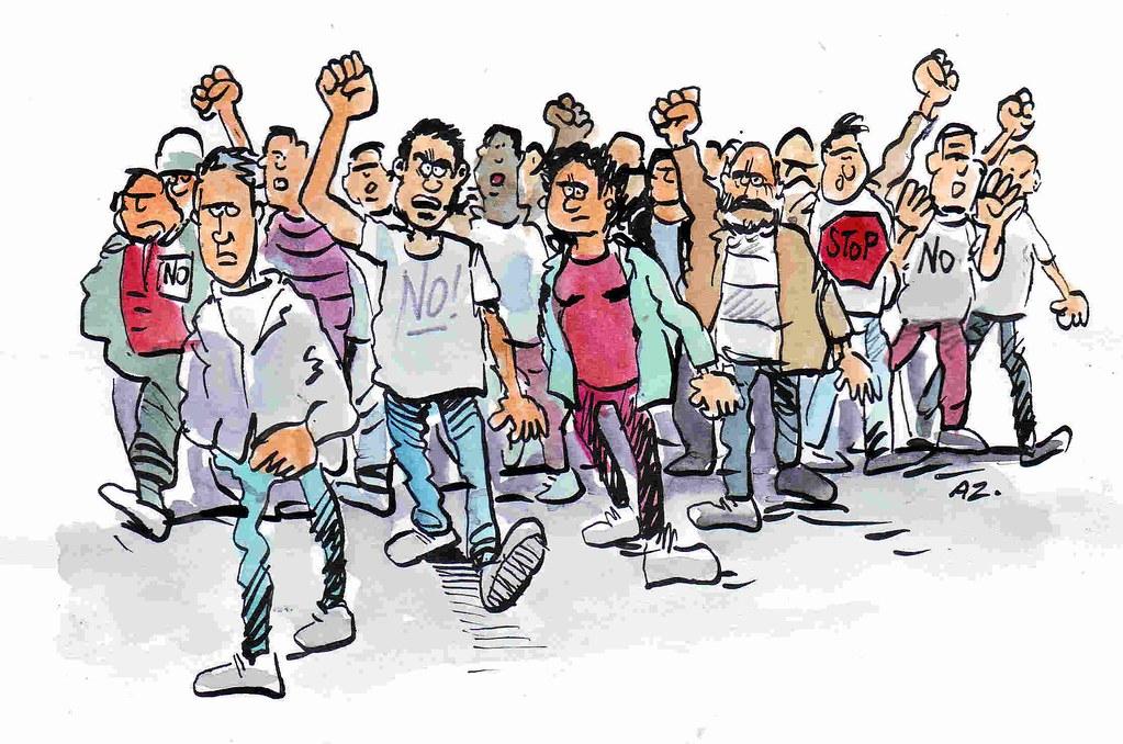 Dibujo de Carlos Azagra