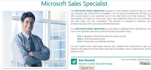 microsoft sales specialist is designed to enhance your professional value with current and potential employers youll gain knowledge that offer sound
