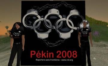 Reporter sans frontiere vs la Chine