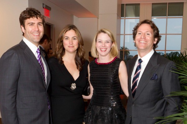 Zach Bogue, Alexis Traina, Marissa Mayer, Trevor Traina