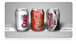 Iconos Lata CocaCola