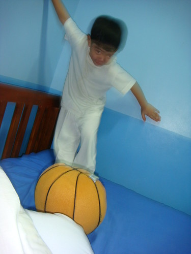 Jake & his stuffed ball