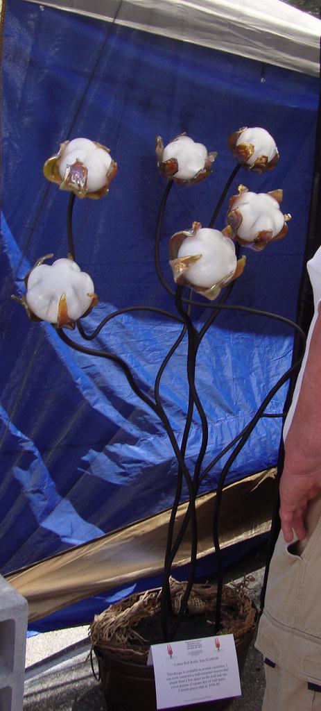 Cotton Tree, Delta Blown Glass, GumTree Festival - Tupelo MS