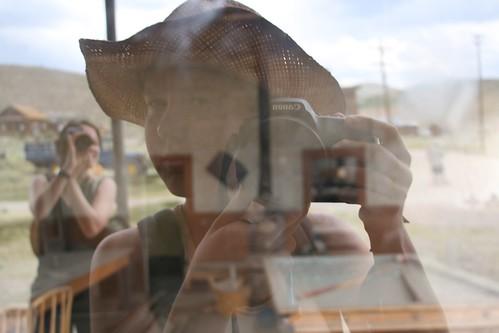Reflection portrait