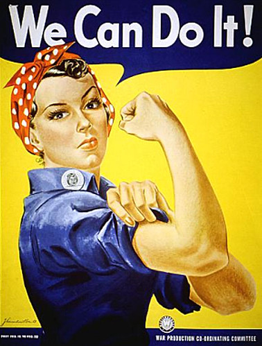 WW2 Poster Rosie The Riveter