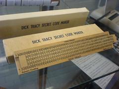 Dick Tracy Secret Code Maker