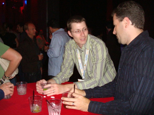 Thomas the Networker at SES Webmaster Search Bash 2007