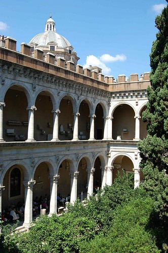 Courtyard of Palazzo Venezia