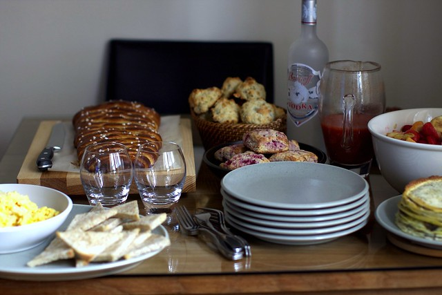 the mother's day brunch spread