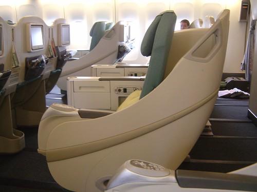 Korean Air Club Business Class Seats