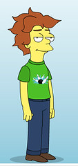 avatar of MattHurst, made using the simpsons avatar generator
