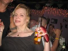 Drunk Woman at Pride