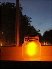 Sun Jar (during the night)
