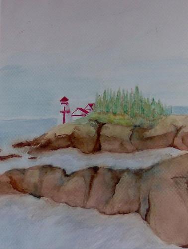 lighthousewatercolor