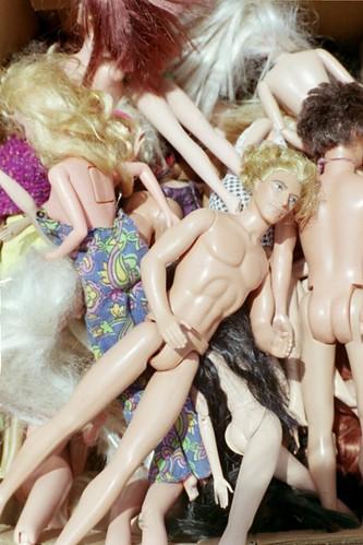 it's a barbie doll world
