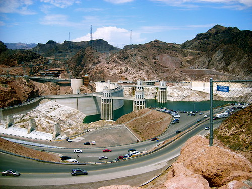 Hoover Dam, 12 pm