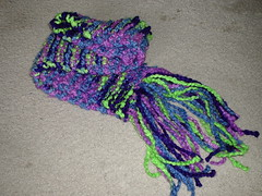 Electric Blues Scarf