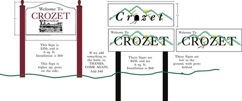 Crozet Signs