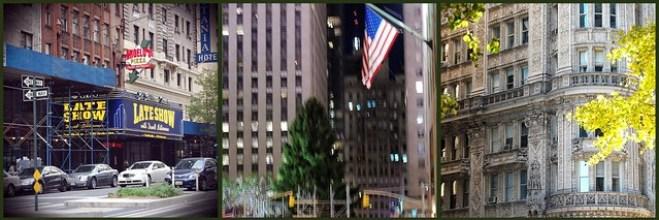 Walking around New York