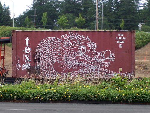 dragon graffiti art