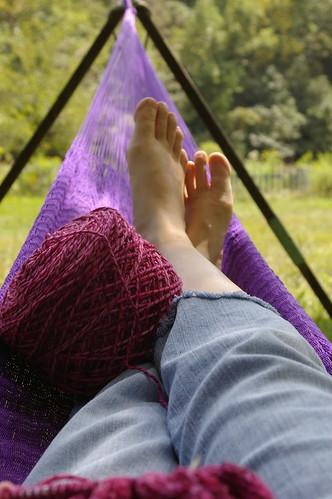 hammock knitting