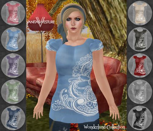 Vanitas Vesture - Wonderland - Jujune Tunic