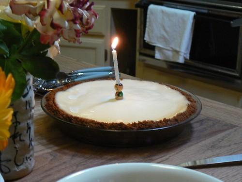 His favorite dessert!