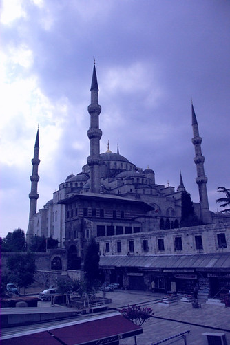 Blue mosque, Sultanahmet mosque, Sultanahmet camii, Istanbul, pentax k10d