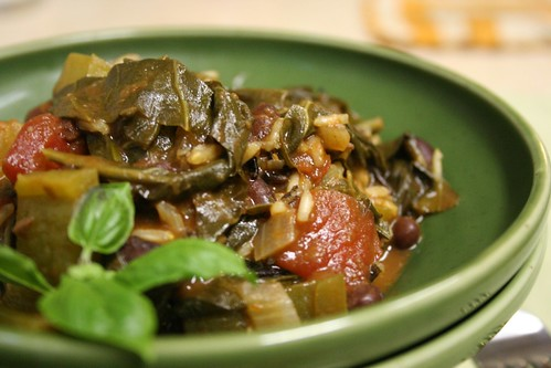 Rice and Beans and Collard Greens