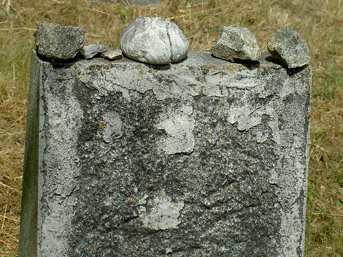 Neu Bistritz - Unidentified Headstone