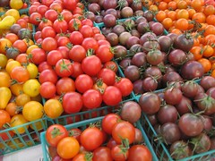 Tomatoes at the Morgan Hill Farmers Market
