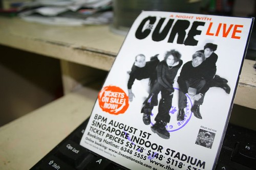 The Cure Postcard