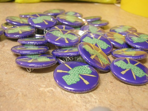 Jersey Represent! Buttons