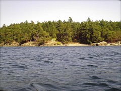 D'Arcy Island, approaching from the west