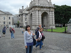 Jeanette At Trinity College, Dublin