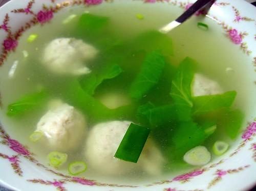 fish ball soup / �丸湯