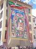Huge Thanka, shown during Phyang Tsedup festival, Ladakh