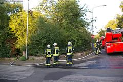 Feuer Abrissgebäude Bierstadt 18.08.07