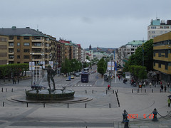 Gothenburg, city center, Poseidon Fountain