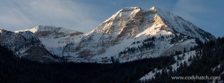 Panoramic of Mount Timpanogo
