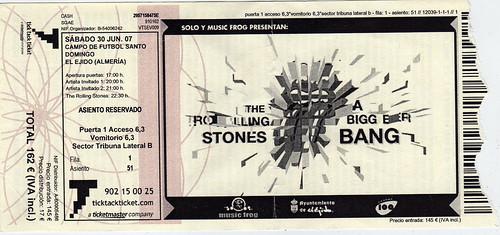 Entrada Rolling Stones El Ejido 07