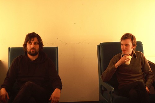 Anthony and Ben, pre-Forum show Oct 2007