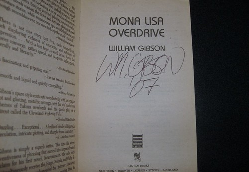 Signed copy