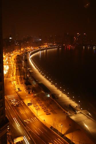 東方商旅百萬外灘夜景