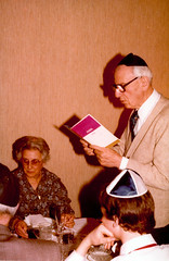 1978, Joseph reading a prayer