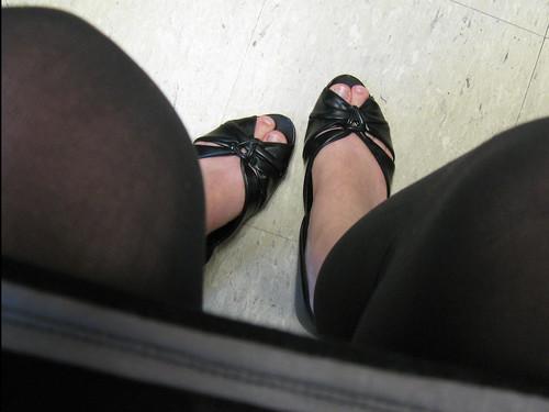 Office feet.