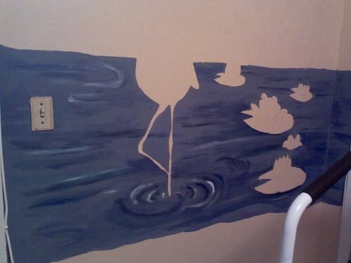 mural progress 2 1-4-09