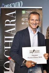 Il vincitore Gianrico Carofiglio